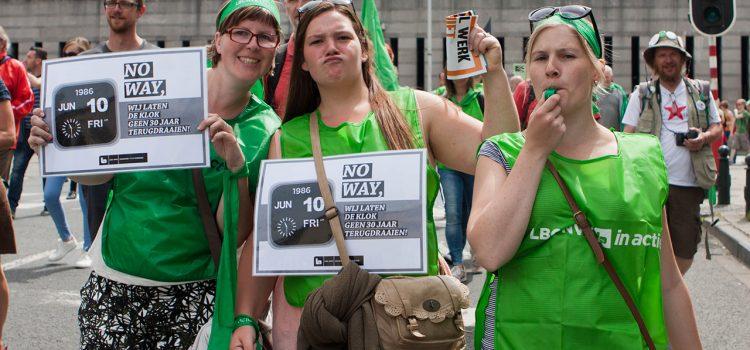 Jongeren en de vakbond? Die zijn geheel verzoenbaar.