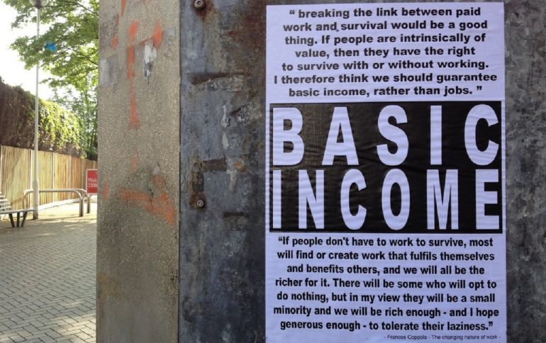 Het basisinkomen is oorlog