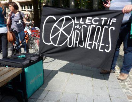 Waarom fietskoeriers zich organiseren in Brussel