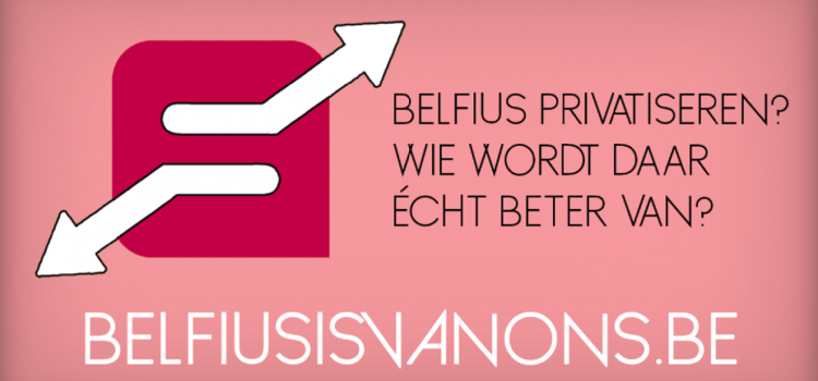 Belfius blijft van ons!